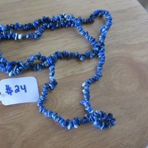 Dark blue shaka necklace